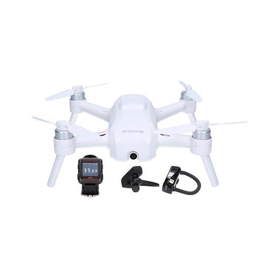 Modri komplet Športni komplet Ura MiVia H350 HR + BT slušalke RIO + dron Breeze 4K