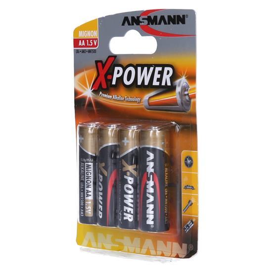 Ansmann X-POWER alkalni baterijski vložek 4xAA