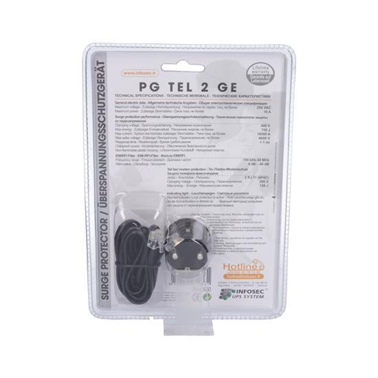 Infosec Prenapetostna zaščita INFOSEC PG TEL 2 GE