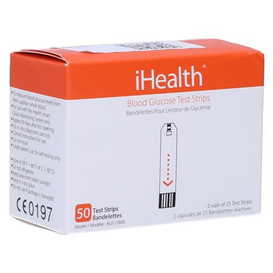 iHealth Testni lističi za merilnik krvnega sladkorja (AGS-1000I)