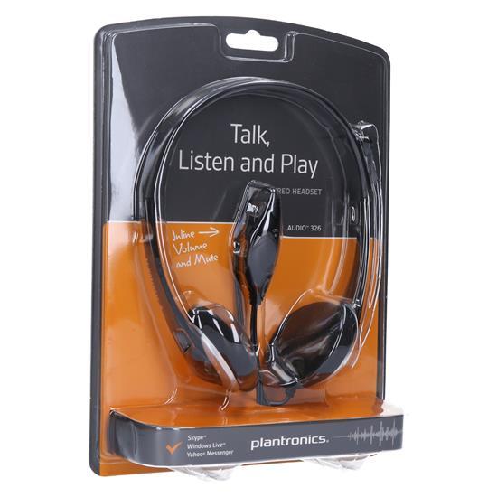 Plantronics PC slušalka audio 326