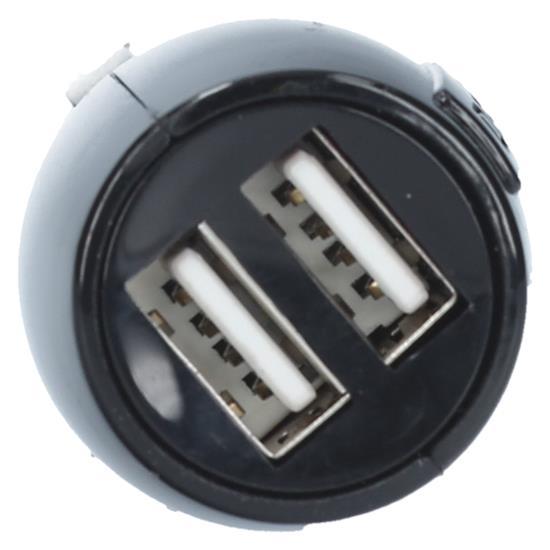 SBS Avto polnilec USB 12/24V (TECAR2USB31A)