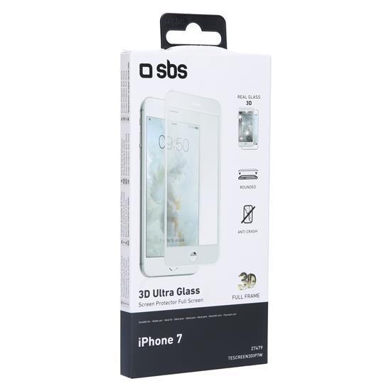 SBS Zaščitno steklo 3D (TESCREEN3DIP7W)