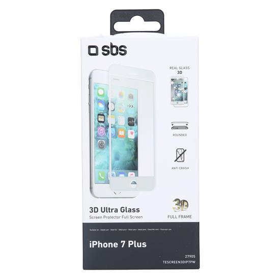 SBS Zaščitno steklo 3D (TESCREEN3DIP7PW)