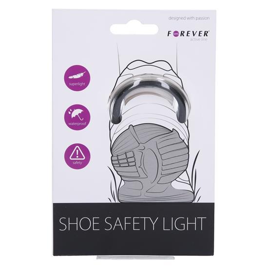 Forever Varnostna priponka za čevlje z lučko