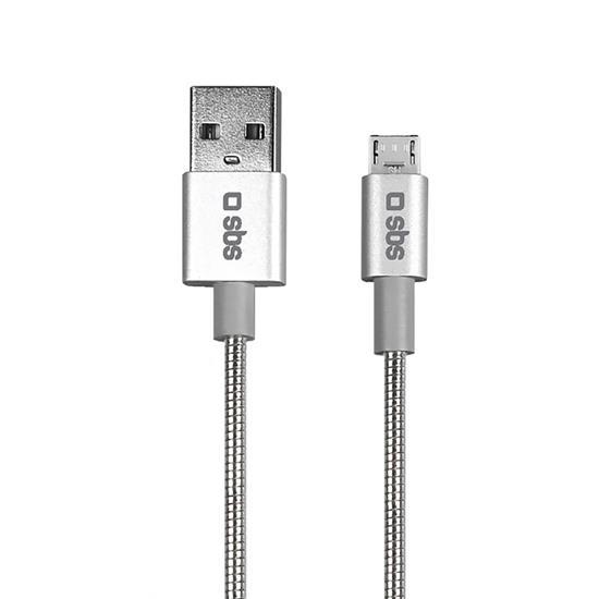 SBS Podatkovni Micro USB kabel iz aluminija (TECABLEMICROFLEXYS)