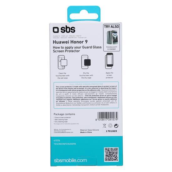 SBS Zaščitno steklo (TESCREENFCHUHO9K)
