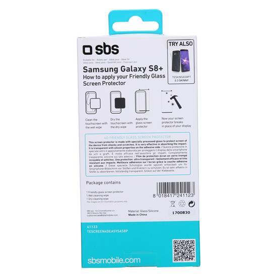 SBS Zaščitno steklo 4D (TESCREEN4DEASYSAS8P)