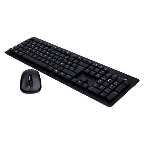 Genius Brezžični tipkovnica + miška SlimStar 8005