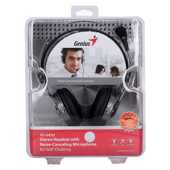 Genius PC slušalke HS-04SU