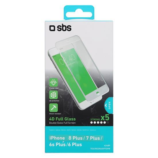 SBS Zaščitno steklo 4D (TESCREEN4DIP7SPW)