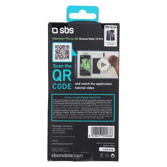 SBS Zaščitno steklo 4D (TESCREEN4DHUM10PT)
