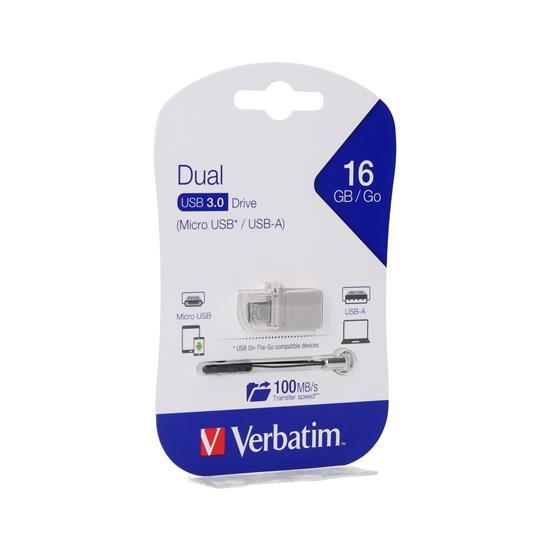 Verbatim Ključek USB 3.0/USB Micro drive