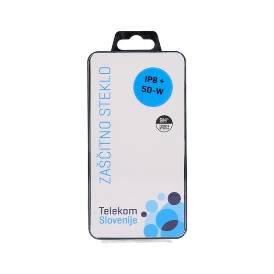 Telekom Slovenije Zaščitno steklo 5D z belo obrobo