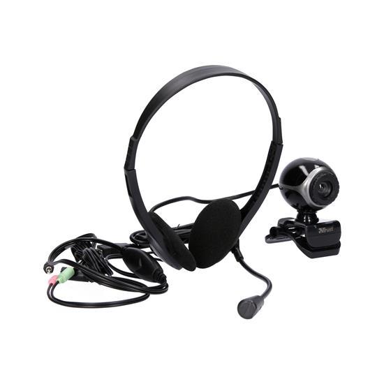 Trust Spletna kamera + slušalke Exis